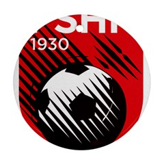 Crest Of The Albanian National Football Team Ornament (Round)  by abbeyz71