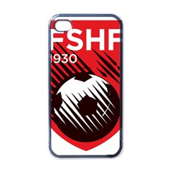 Crest Of The Albanian National Football Team Apple Iphone 4 Case (black)