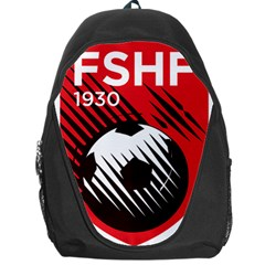 Crest Of The Albanian National Football Team Backpack Bag by abbeyz71
