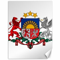 Coat Of Arms Of Latvia Canvas 36  X 48   by abbeyz71