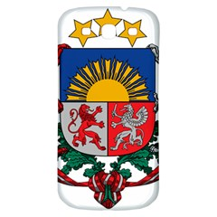 Coat Of Arms Of Latvia Samsung Galaxy S3 S Iii Classic Hardshell Back Case