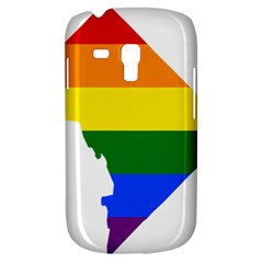 Lgbt Flag Map Of Washington, D C Samsung Galaxy S3 Mini I8190 Hardshell Case