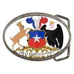 Coat Of Arms Of Chile  Belt Buckles by abbeyz71