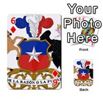 Coat Of Arms Of Chile  Playing Cards 54 Designs  Front - Diamond6