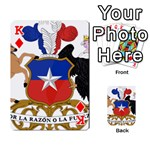Coat Of Arms Of Chile  Playing Cards 54 Designs  Front - DiamondK