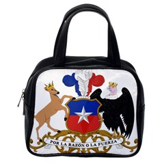 Coat Of Arms Of Chile  Classic Handbags (one Side)