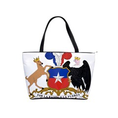 Coat Of Arms Of Chile  Shoulder Handbags