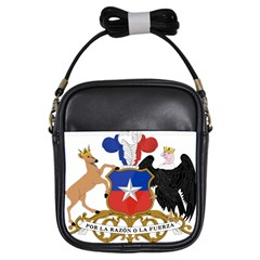 Coat Of Arms Of Chile  Girls Sling Bags