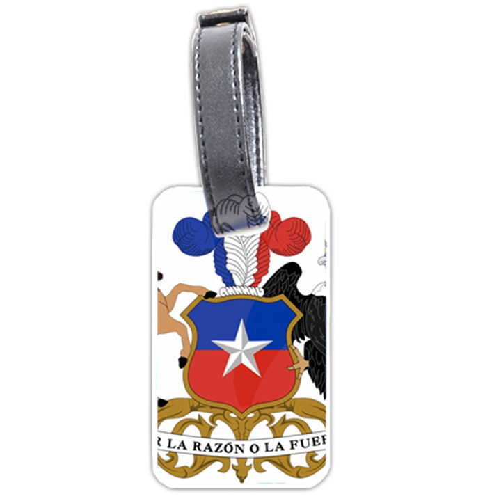 Coat Of Arms Of Chile  Luggage Tags (One Side)