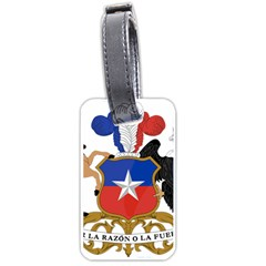 Coat Of Arms Of Chile  Luggage Tags (two Sides)