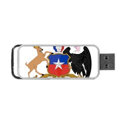 Coat Of Arms Of Chile  Portable Usb Flash (two Sides) by abbeyz71
