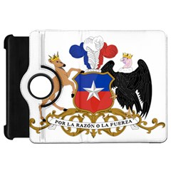 Coat Of Arms Of Chile  Kindle Fire Hd Flip 360 Case by abbeyz71