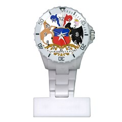 Coat Of Arms Of Chile  Plastic Nurses Watch
