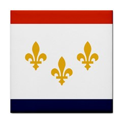 Flag Of New Orleans  Tile Coasters