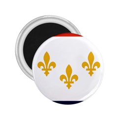 Flag Of New Orleans  2 25  Magnets