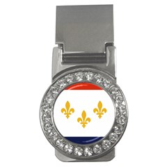 Flag Of New Orleans  Money Clips (cz)  by abbeyz71