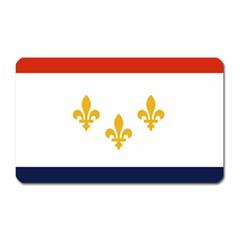 Flag Of New Orleans  Magnet (rectangular)