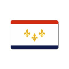 Flag Of New Orleans  Magnet (name Card)