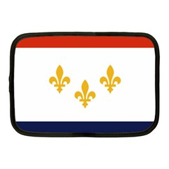 Flag Of New Orleans  Netbook Case (medium)  by abbeyz71