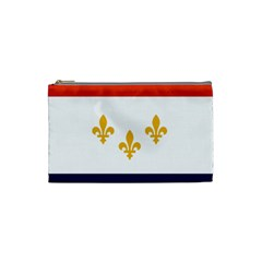 Flag Of New Orleans  Cosmetic Bag (small)