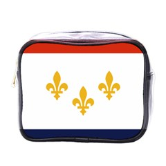 Flag Of New Orleans  Mini Toiletries Bags