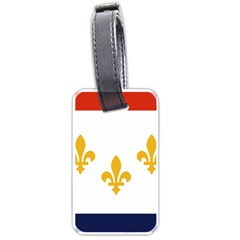 Flag Of New Orleans  Luggage Tags (one Side)  by abbeyz71