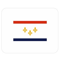 Flag Of New Orleans  Double Sided Flano Blanket (medium)  by abbeyz71