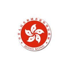 Emblem Of Hong Kong  Golf Ball Marker