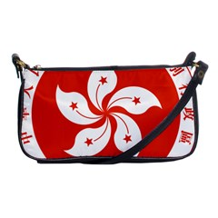 Emblem Of Hong Kong  Shoulder Clutch Bags by abbeyz71