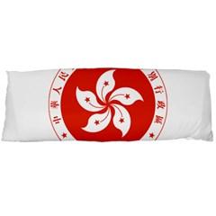 Emblem Of Hong Kong  Body Pillow Case (dakimakura)