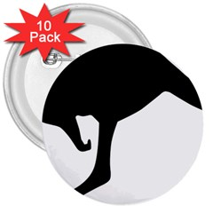 Roundel Of Australian Army Aviation 3  Buttons (10 Pack)