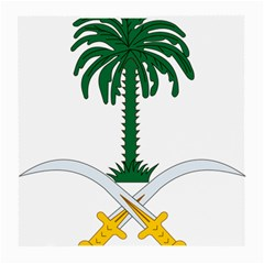 Emblem Of Saudi Arabia  Medium Glasses Cloth