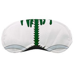 Emblem Of Saudi Arabia  Sleeping Masks