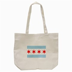 Flag Of Chicago Tote Bag (cream) by abbeyz71
