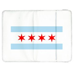 Flag Of Chicago Samsung Galaxy Tab 7  P1000 Flip Case