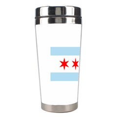 Flag Of Chicago Stainless Steel Travel Tumblers