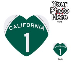 California 1 State Highway   Pch Multi Purpose Cards (heart)  by abbeyz71