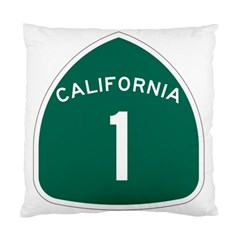 California 1 State Highway   Pch Standard Cushion Case (two Sides)