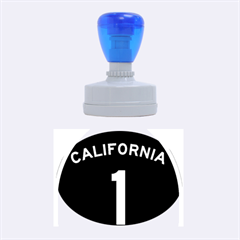 California 1 State Highway   Pch Rubber Oval Stamps