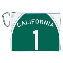 California 1 State Highway   Pch Canvas Cosmetic Bag (xxl) by abbeyz71