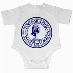 Seal Of Yonkers, New York  Infant Creepers by abbeyz71