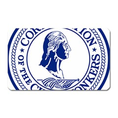 Seal Of Yonkers, New York  Magnet (rectangular)