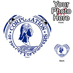 Seal Of Yonkers, New York  Playing Cards 54 (heart)  by abbeyz71