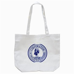 Seal Of Yonkers, New York  Tote Bag (white)