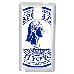 Seal Of Yonkers, New York  Samsung Galaxy Note 4 Case (white)