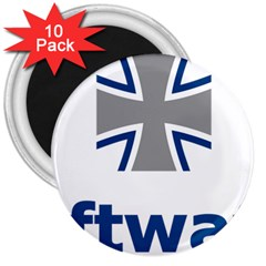 Luftwaffe 3  Magnets (10 Pack)  by abbeyz71