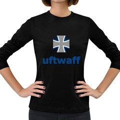 Luftwaffe Women s Long Sleeve Dark T Shirts