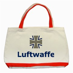Luftwaffe Classic Tote Bag (red)