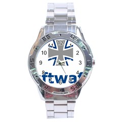 Luftwaffe Stainless Steel Analogue Watch