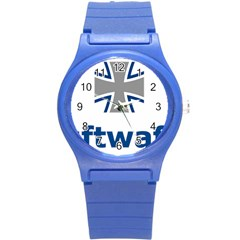 Luftwaffe Round Plastic Sport Watch (s)